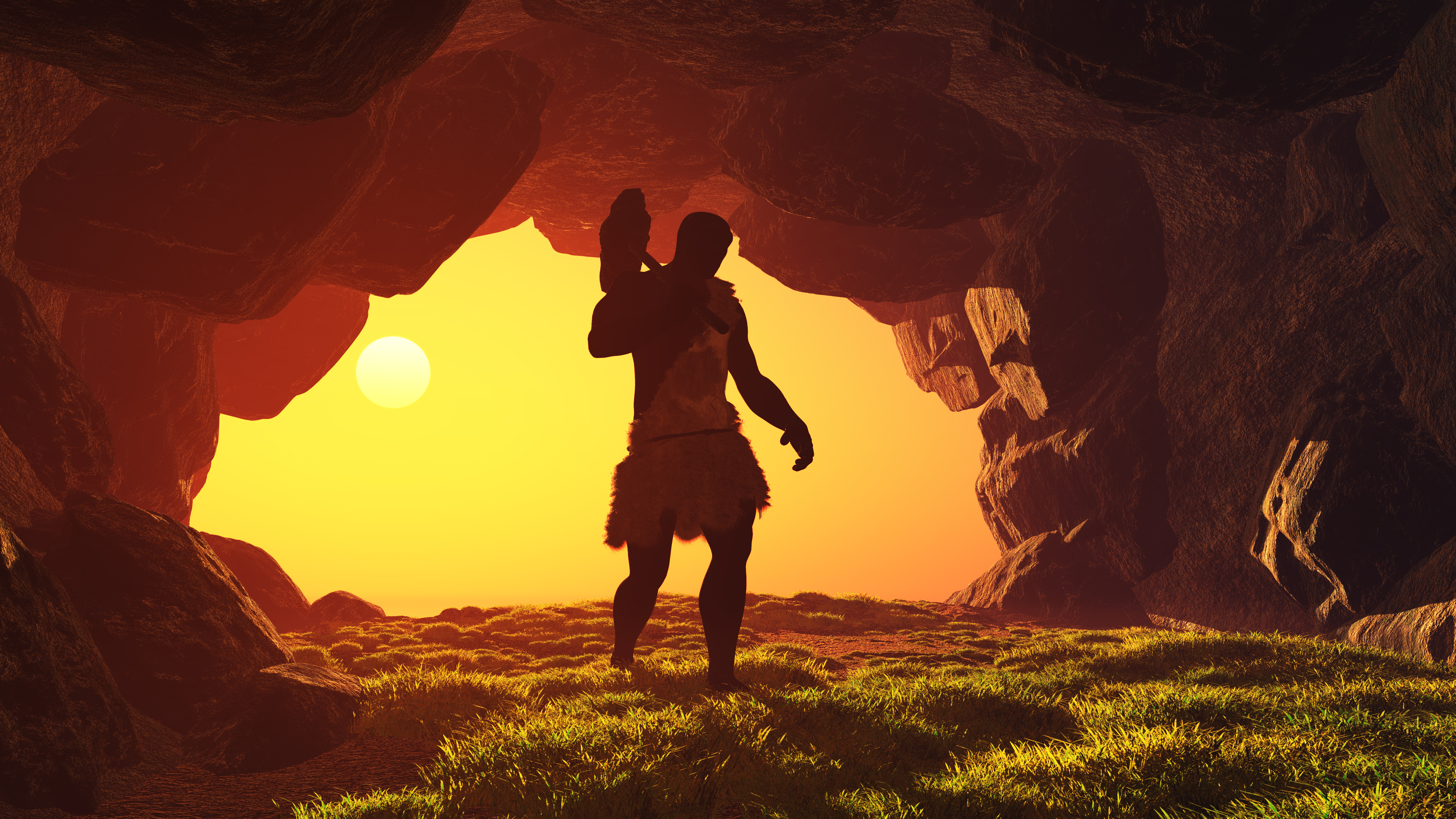 Caveman-AdobeStock_62085492