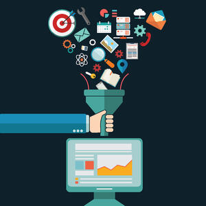 Data Funnel To Desktop-AdobeStock_105428565