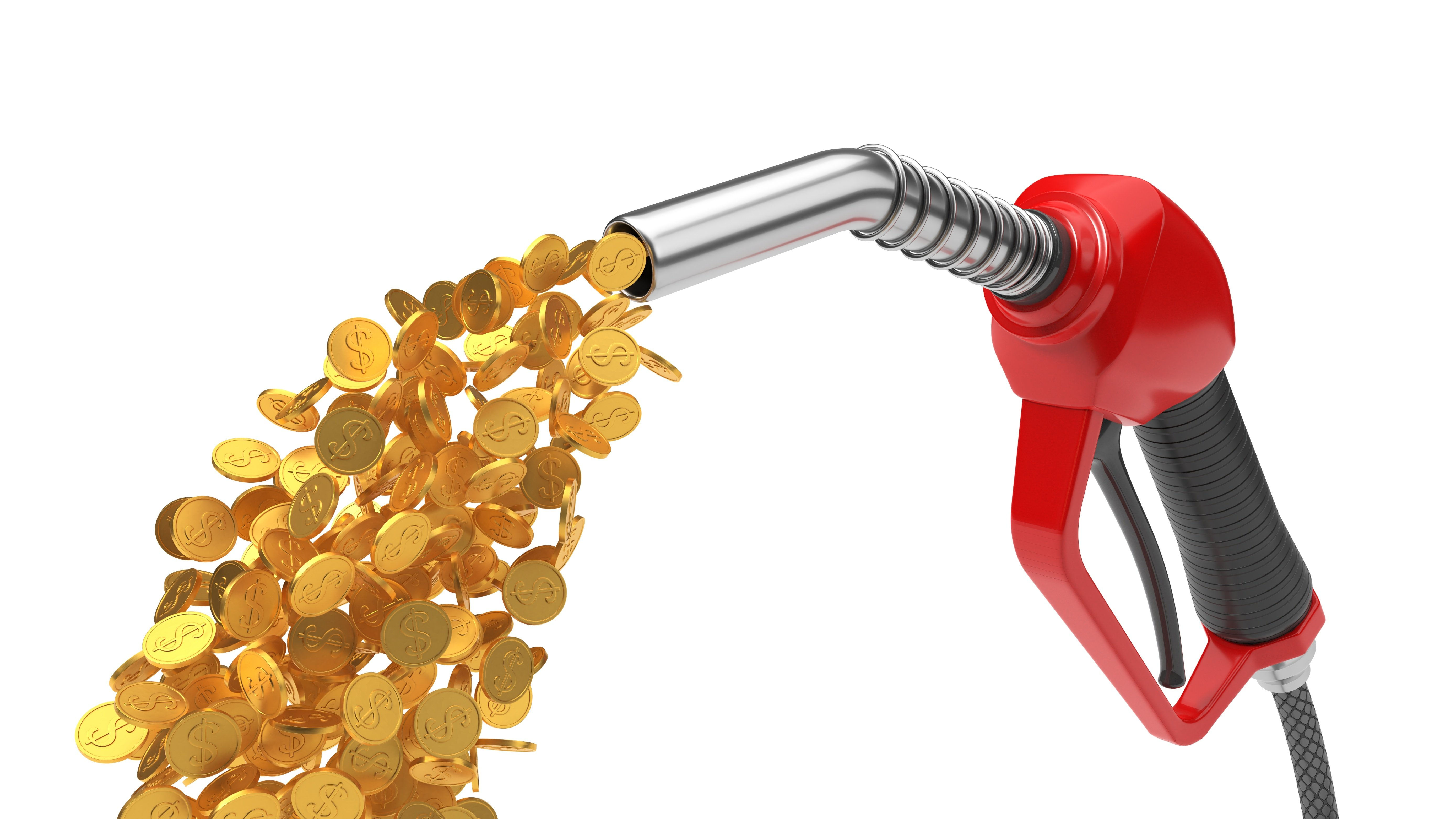 Money Pouring Out of Nozzle-AdobeStock_196006574