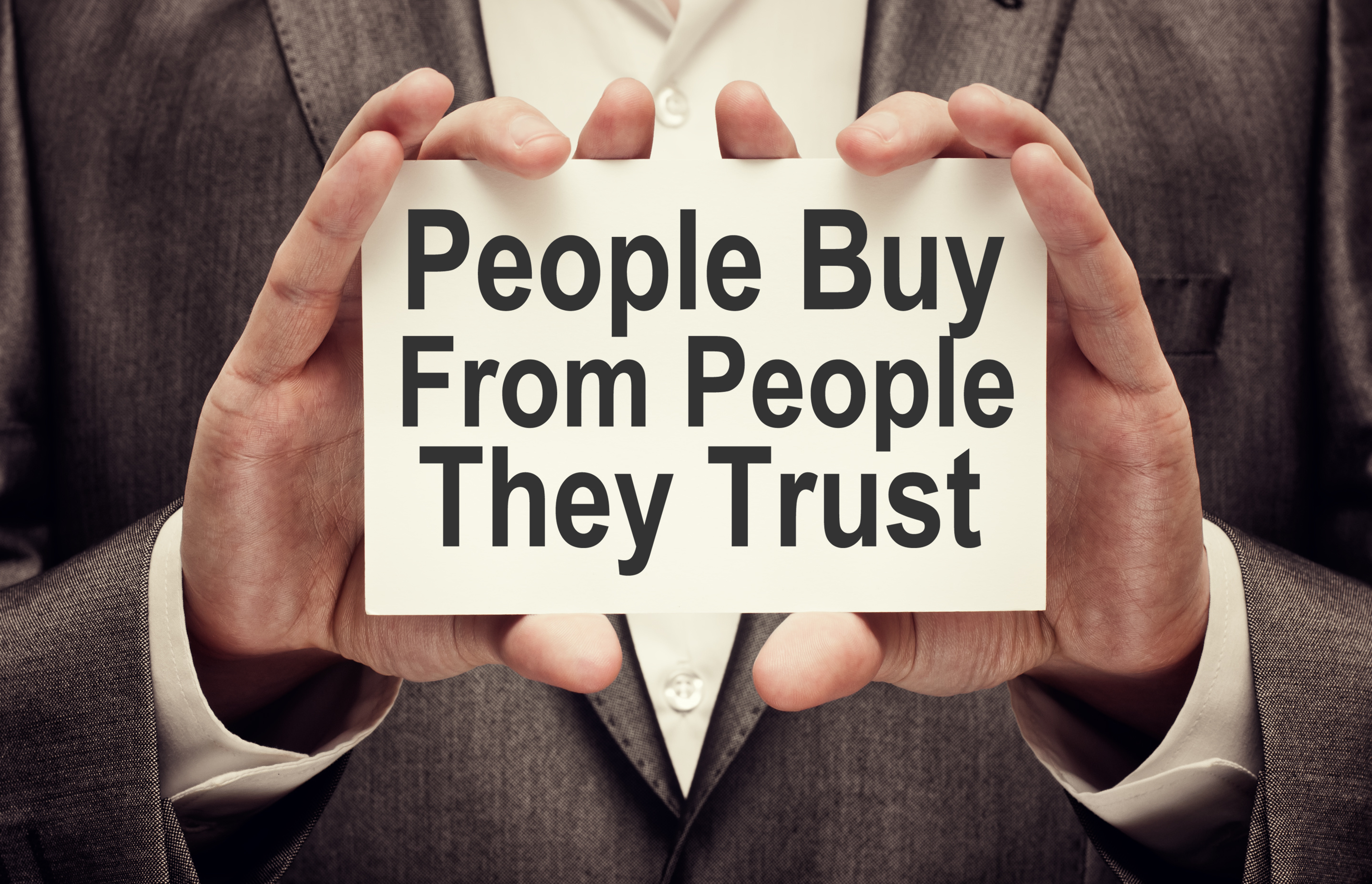 People Buy From People They Trust-AdobeStock_109355839