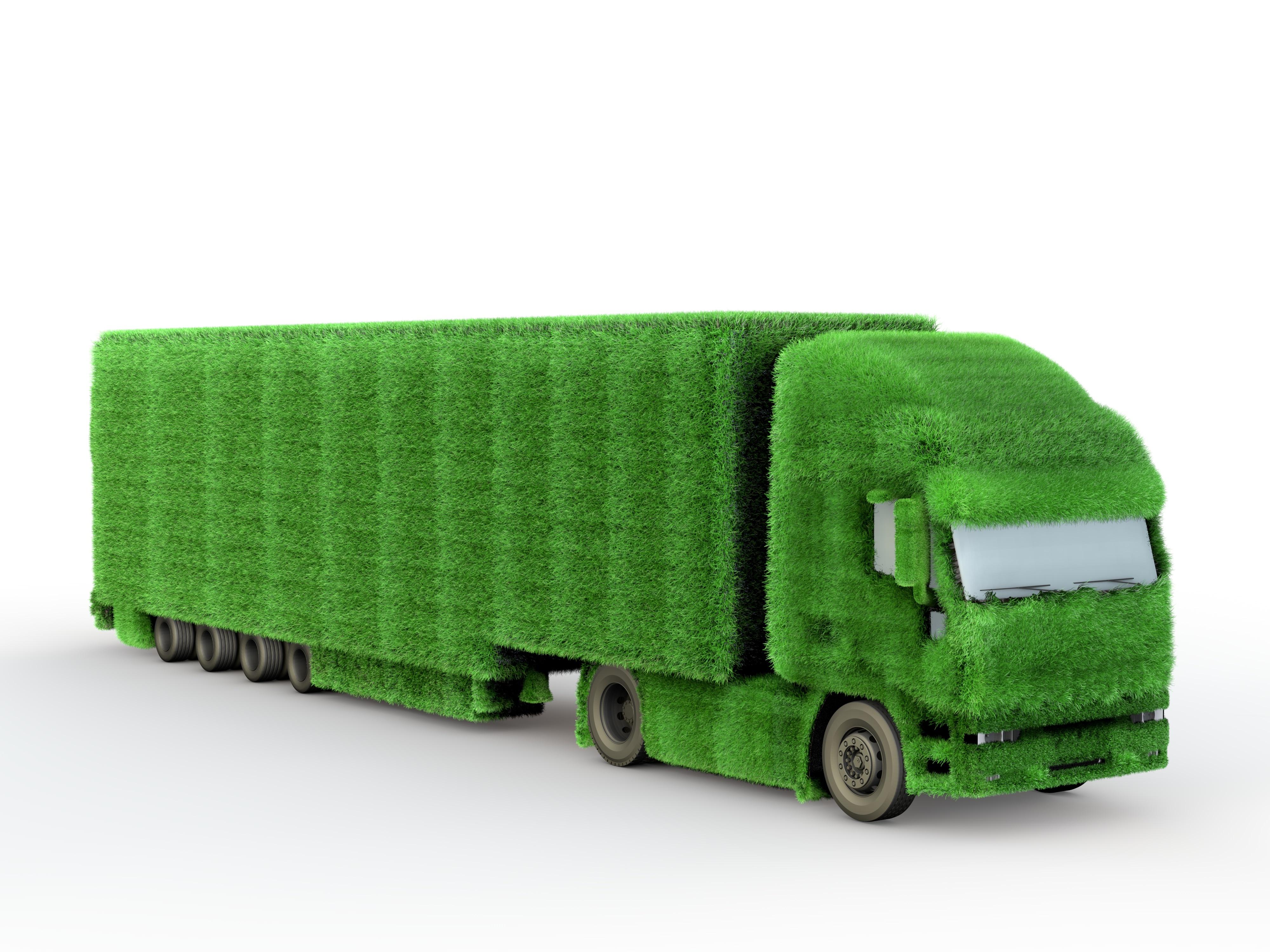 Green Truck-AdobeStock_40942209